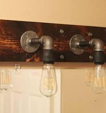 Diy Bathroom Lighting Diy Industrial Bathroom Light Fixtures