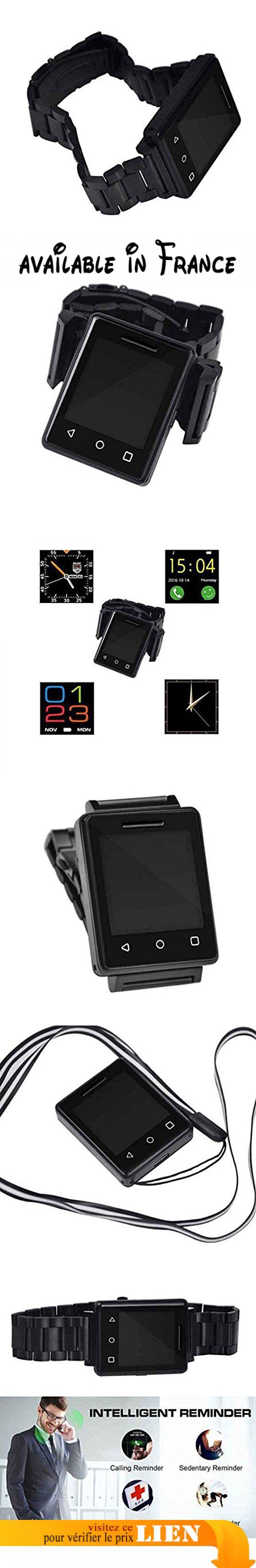 Bluetooth montre intelligente élégants,Pédomètre montre