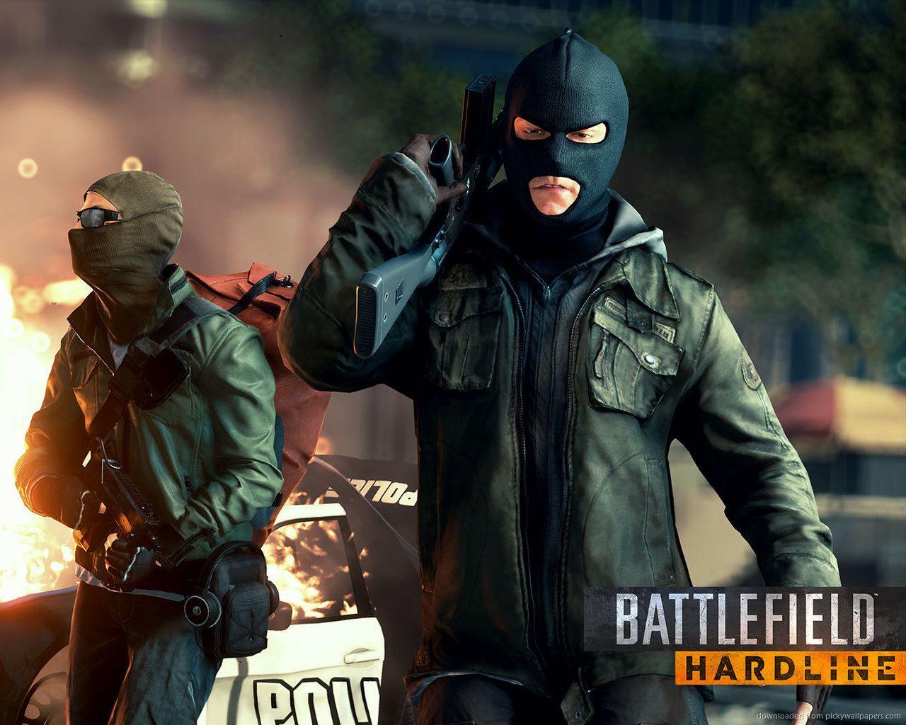 Police Chase Battlefield Hardline X Full HD