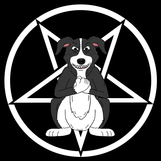 Mr Pickles Dog Satanic 666 Lucifer Evil Bad Maldad