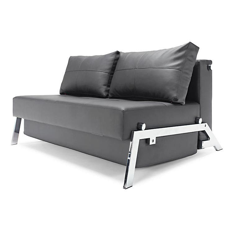 Cubed Deluxe 140 Sofa Bed With A Multiple Mechanism Of Folding Designed For Small Apartments Or Hotel Room Sofa Bed Design Comfortable Sofa Bed Sofa Bed Black