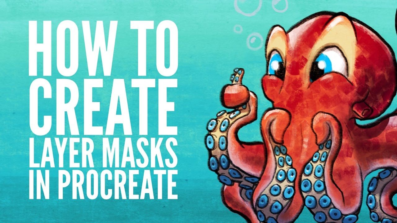 How To Create Layer Masks In Procreate Youtube Procreate Ipad Art Procreate Tutorial Procreate App Tutorial