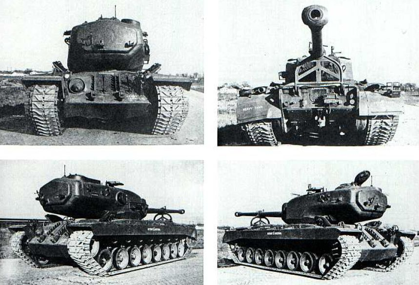 Another photos of T34 Heavy Tank showing rear and front of vehicle