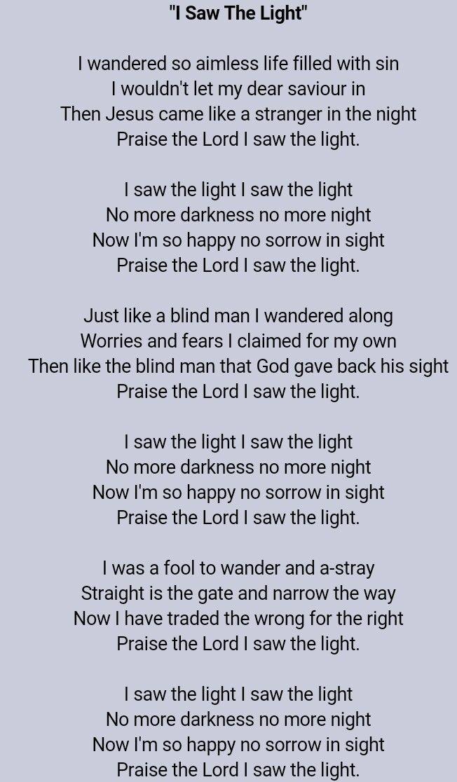 Hank Williams - Lyrics