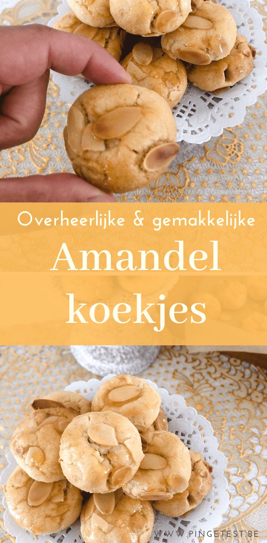 Marokkaanse amandelkoekjes maken met dit gemakkelijk & lekker recept!