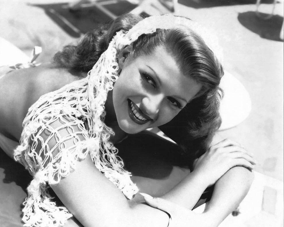 Rita Hayworth, circa 1945.