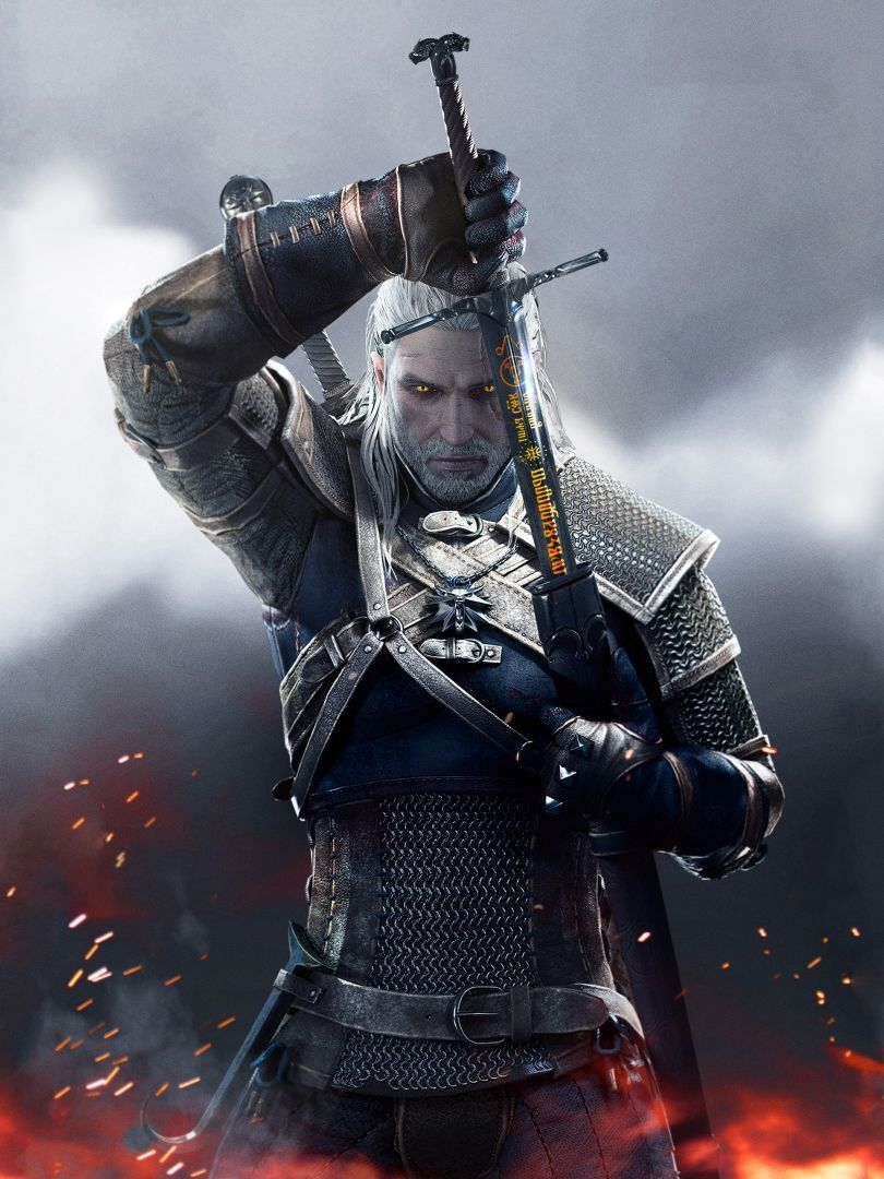 2 Witcher 3 Phone Backgrounds The witcher game, The