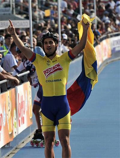 ¡¡¡¡PATINADOR ORGULLO COLOMBIANO!!!