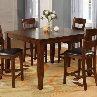 Wildon Home Counter Height Dining Table Counter Height Dining Table Pub Table Sets Bar Table Stools