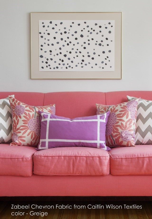 Zabeel Chevron Fabric from Caitlin Wilson Textiles in Greige | A wee ...