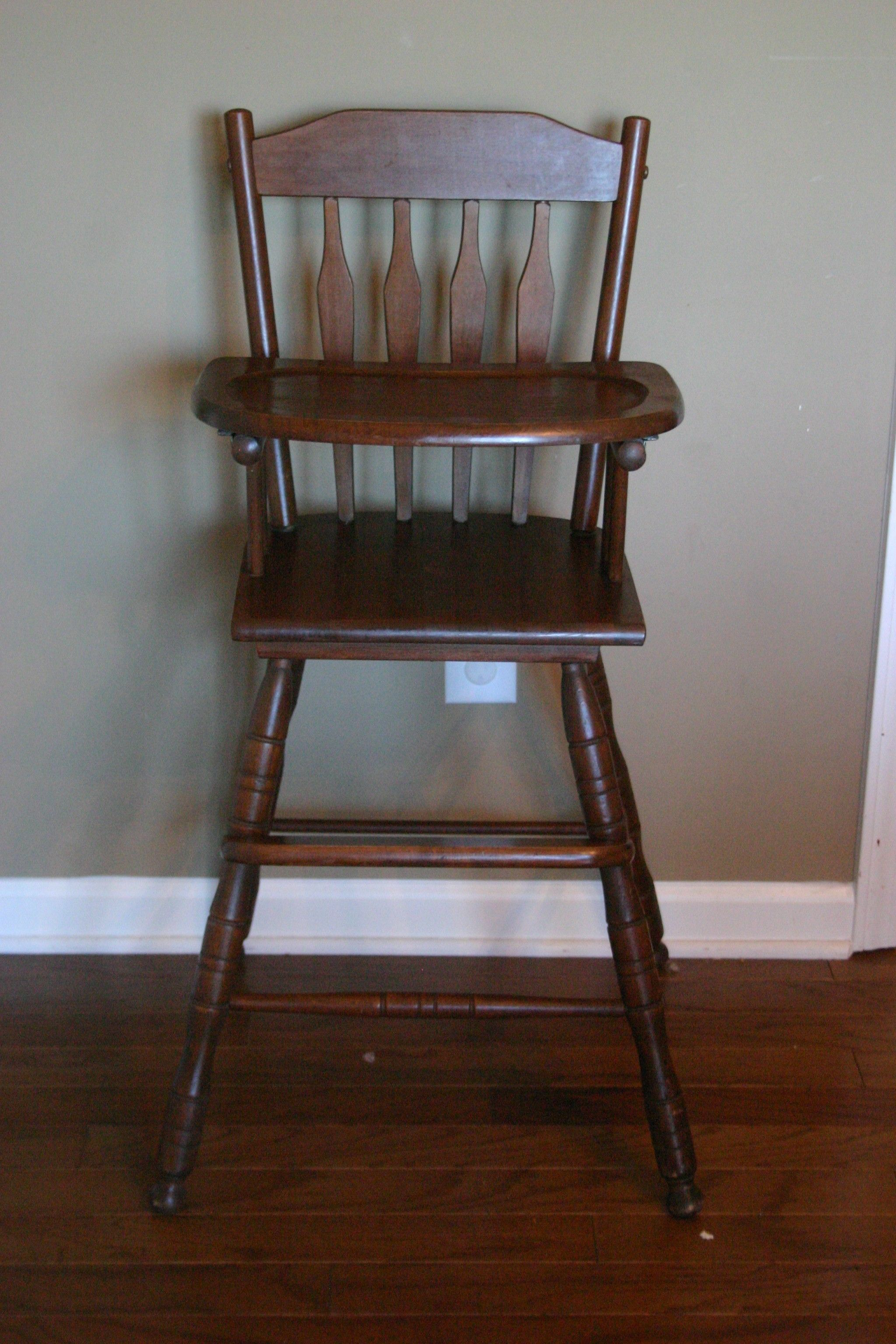Old Wooden High Chair Covers