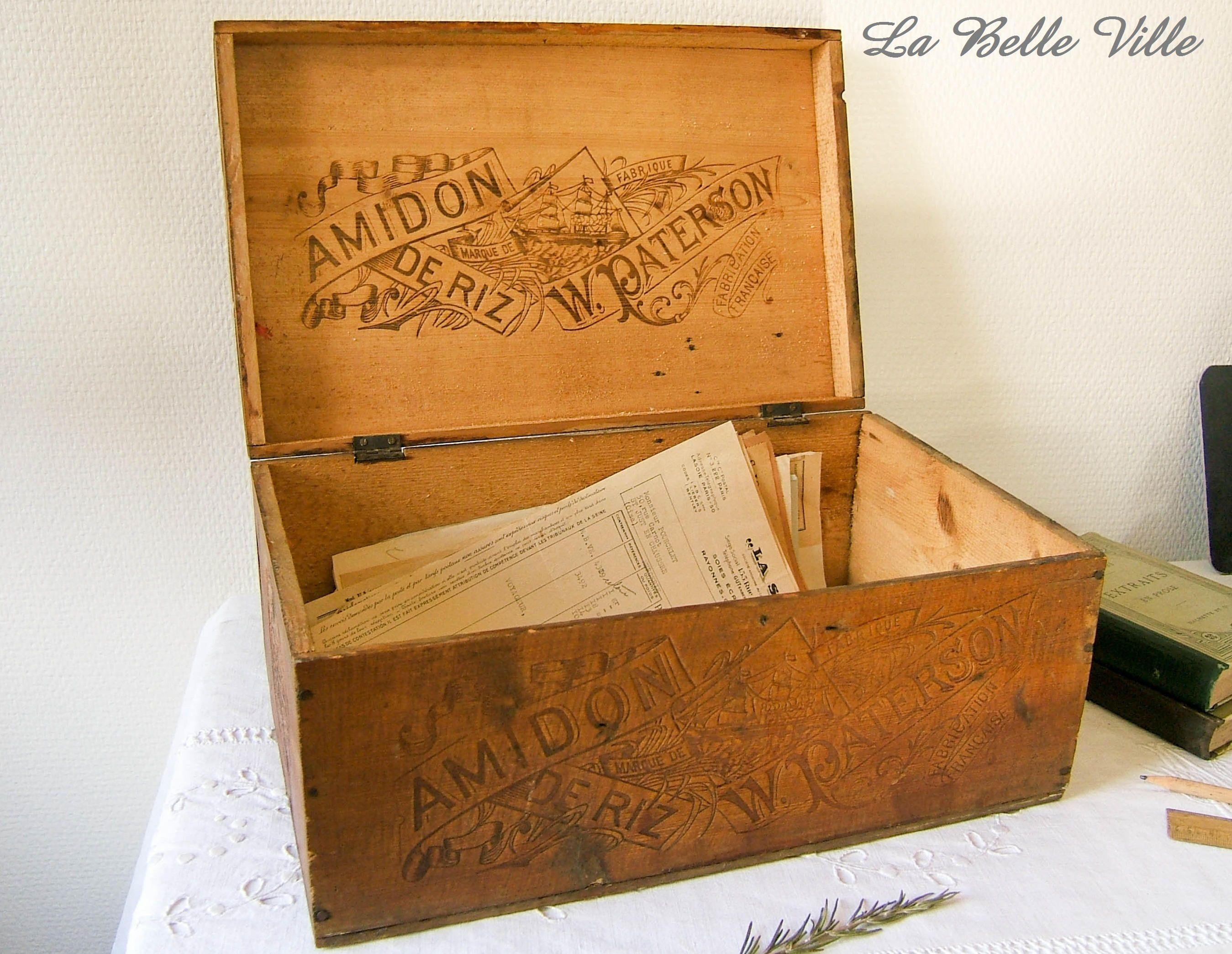 Wooden Craft Crate