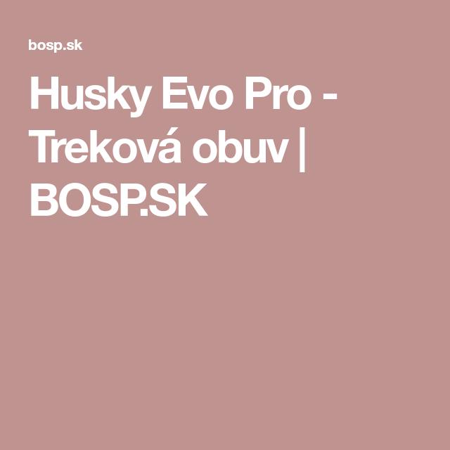 Husky Evo Pro - Treková obuv  cf1e2f848a
