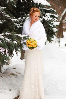 Outdoor Winter Wedding Dress Because I M Considering A Small Backyard December