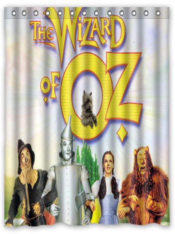 The Wizard Of Oz Wizard Of Oz Shower Curtain Wizard