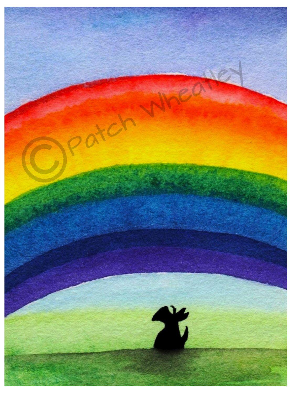 A personal favorite from my Etsy shop https://www.etsy.com/listing/238602628/scottie-dog-rainbow-art-print-scottish