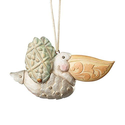 Enesco River's End by Jim Shore Pelican Ornament