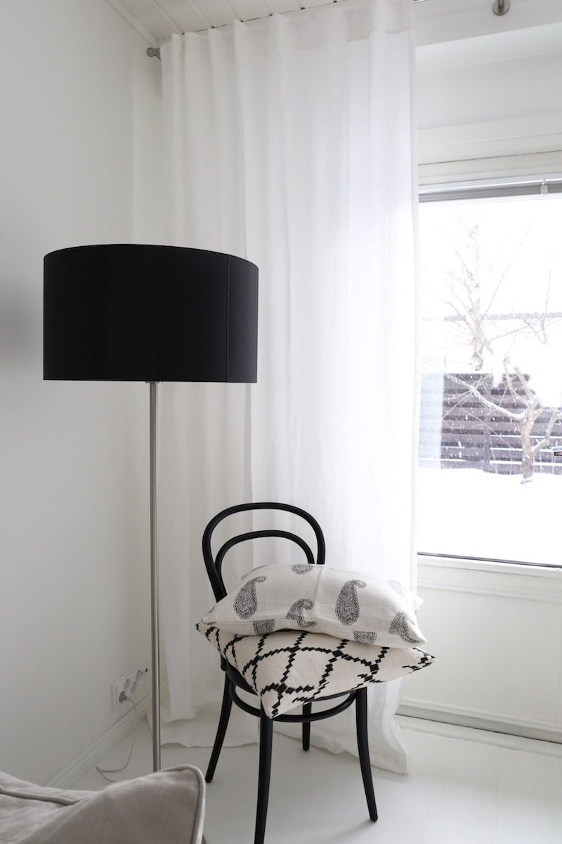 Homevialaura | TON Chair 14 | Design By Frandsen | Chhatwal Jonsson Ikat  And Paisley Cushions