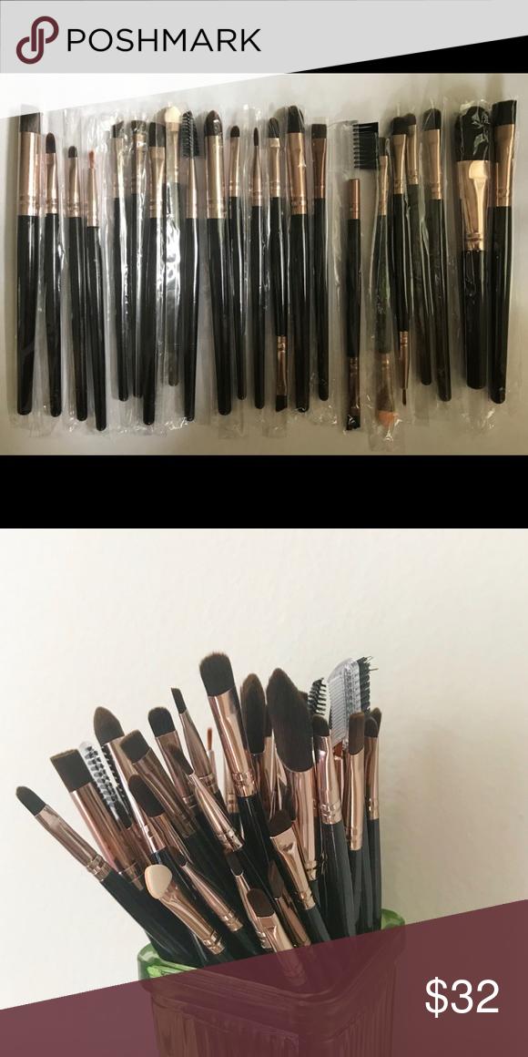 22 PCS MAKE UP BRUSHES MaterialGoat hair Handle material