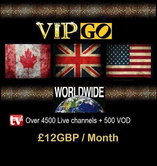 ec11899f VIP GO ** 1-Month Subscription. Devices: Smart TV's LG & Samsung ...