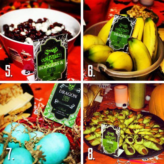 Creepy Food Ideas for a Halloween Party | Creepy food, Halloween ...