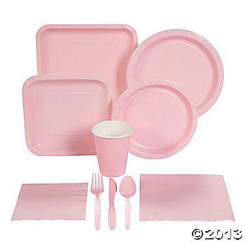 Light Pink Tableware