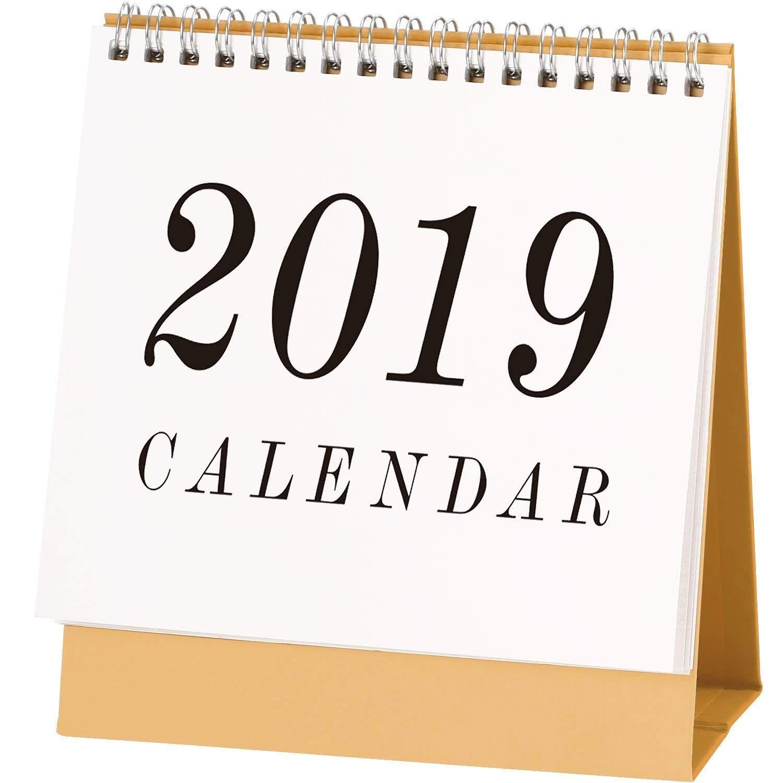 Calendrier Septembre 2018 à Juin 2022 2018 2019 1 mois par page anglais Stand Alone Desk Bureau Table