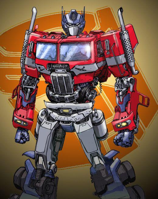 Optimus Prime re-design
