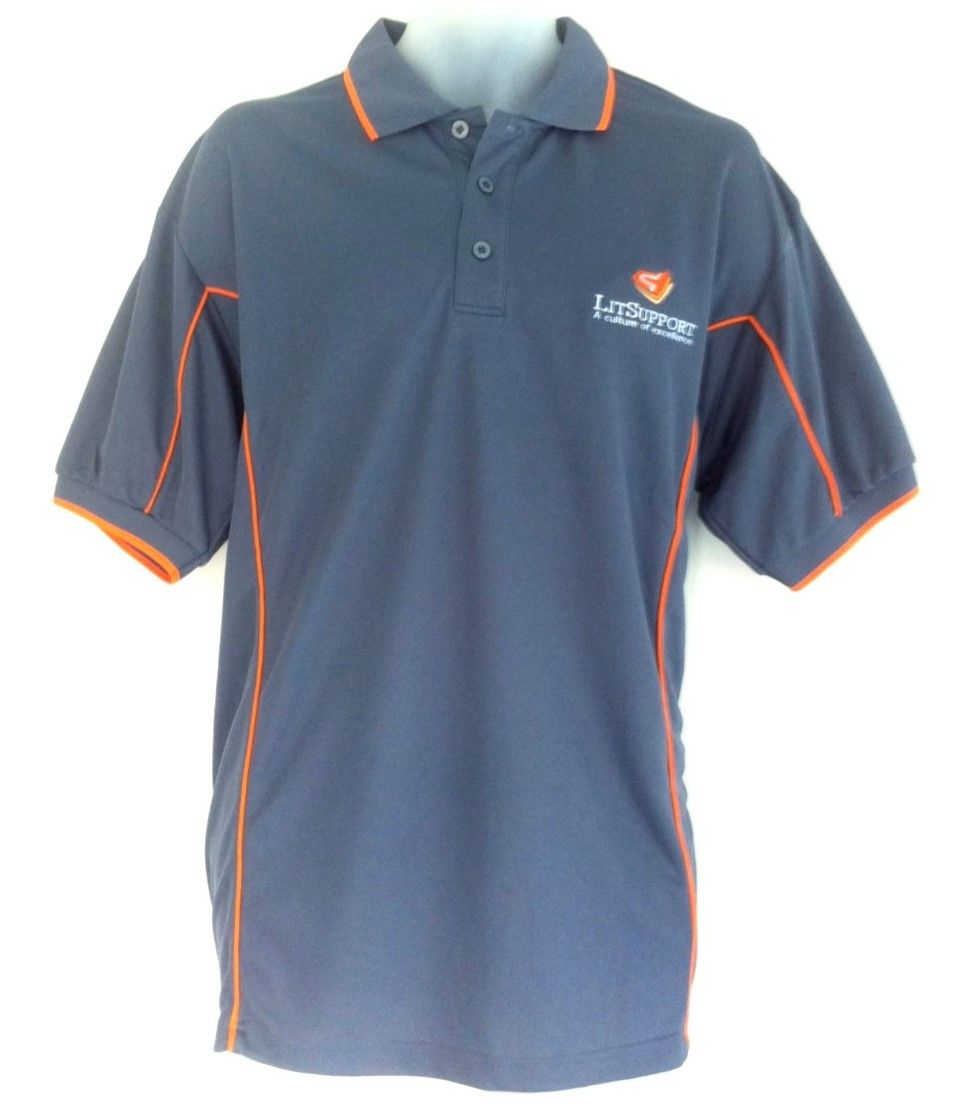 Design t shirt melbourne - This Polo Shirt Design Was Created For The Team At Lit Support To Design And
