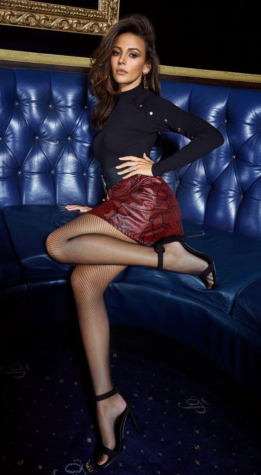 934e5d3e41aba Pin by Beautiful Women Of The World.🌹 on Hot Legs | Fishnet tights, Michelle  keegan, Mini skirts