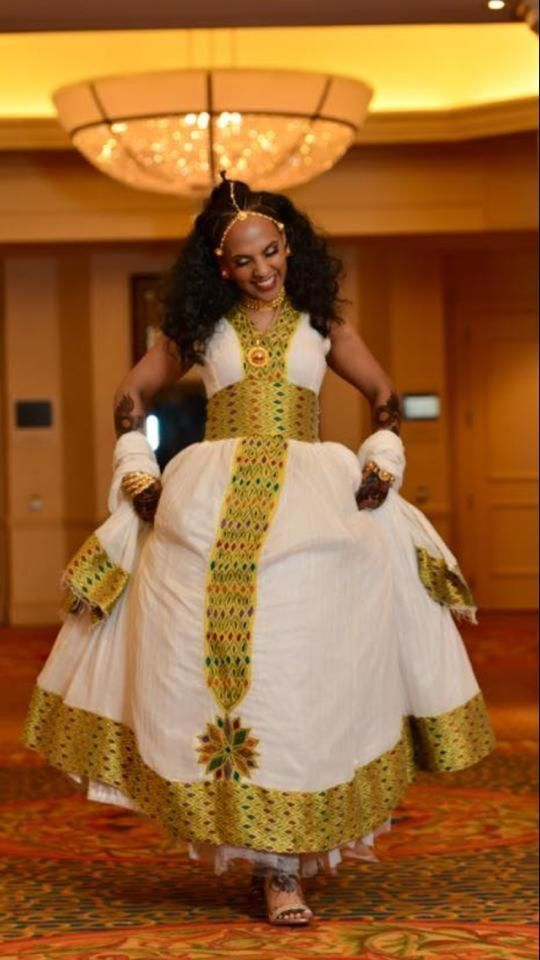 Image result for habesha dress zuriya pinterest for Traditional ethiopian wedding dresses