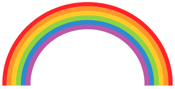 Rainbow Colors In Order With Images Rainbow Clipart Rainbow