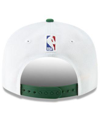 hot sale online 0d96b 808a7 New Era Boston Celtics City Series 2.0 9FIFTY Snapback Cap - White  Adjustable