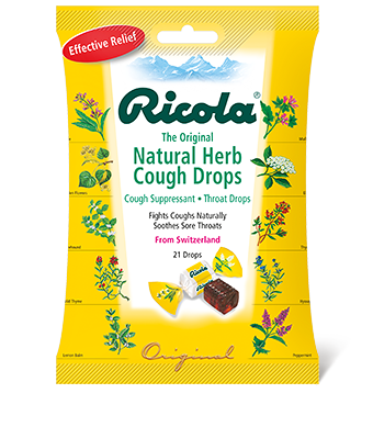 85058252e57 The absolute best cough drops. Taste great but actually work. Huge. -  Ricola Natural Herb Cough Drops