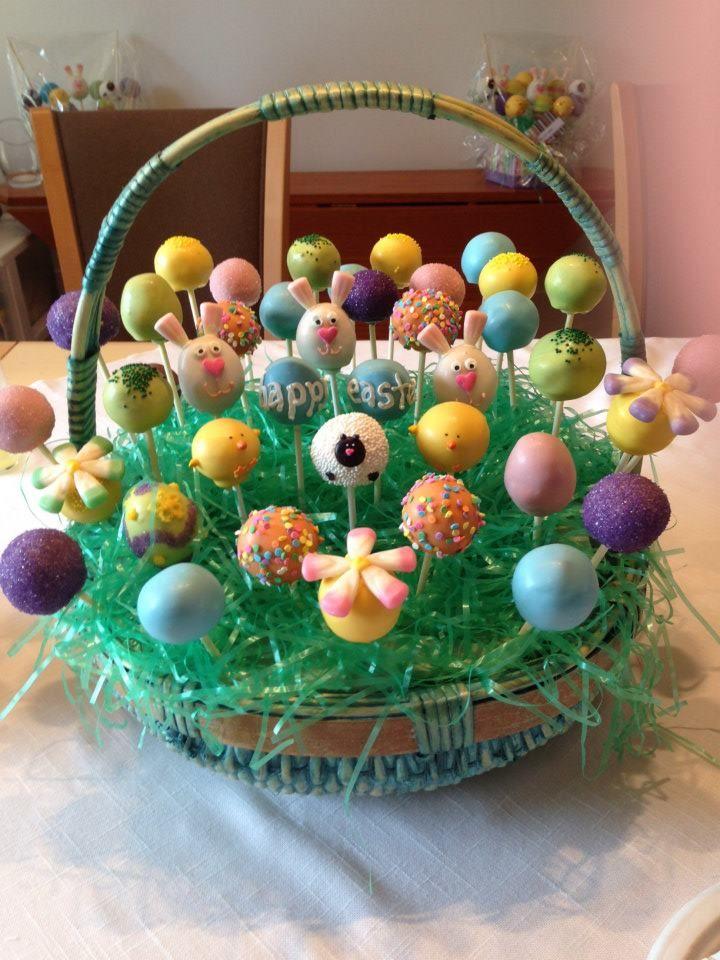 Easter Cake Pops Easter Cake Pops Cake Pop Displays Easter