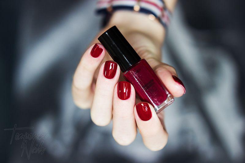 L Oreal Infallible 016 Forever Burgundy Nail Polish Nails Loreal Paris Infallible