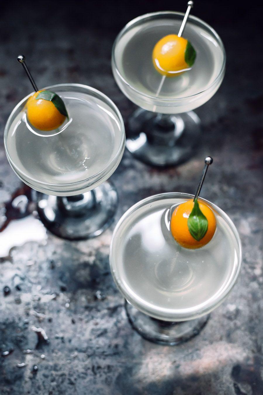 Tokyo Sparkler Cocktail Recipe / West Elm Japanese