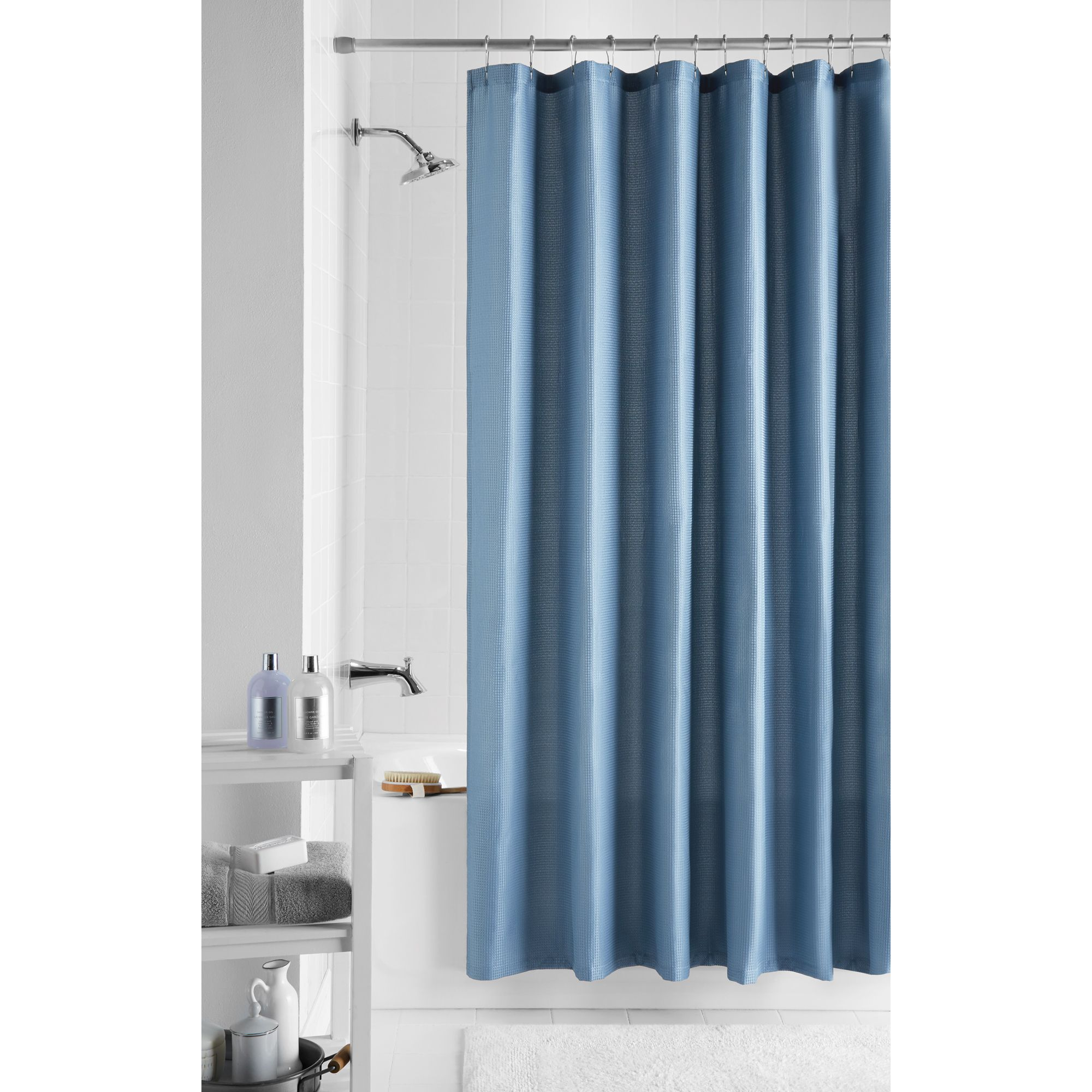 Home In 2020 Light Blue Shower Curtain Fabric Shower Curtains