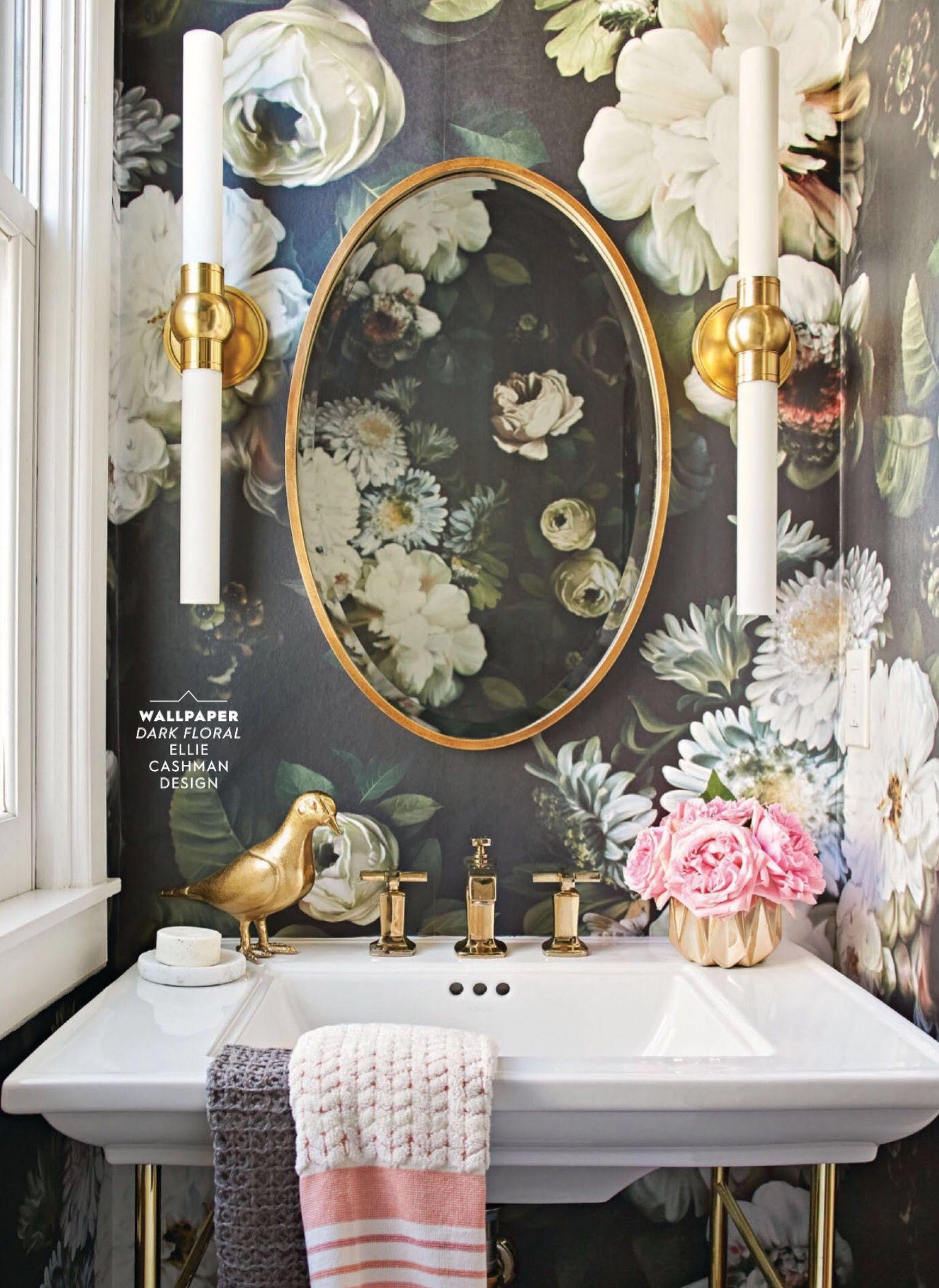 Fleur Pour Salle De Bain ~  pingl par rachel abbott makings sur powder room pinterest
