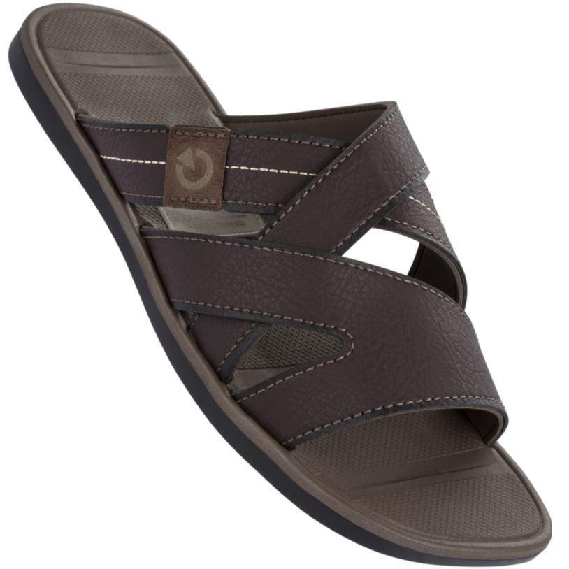 aaea53ba0a71 Chinelo Cartago Mali VII Slide Masculino Marrom Sandals in 2018