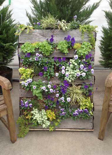 Une palette de fleurs pour d corer son jardin 20 id es pour vous inspirer jardin - 50 astuces pour decorer son jardin ...