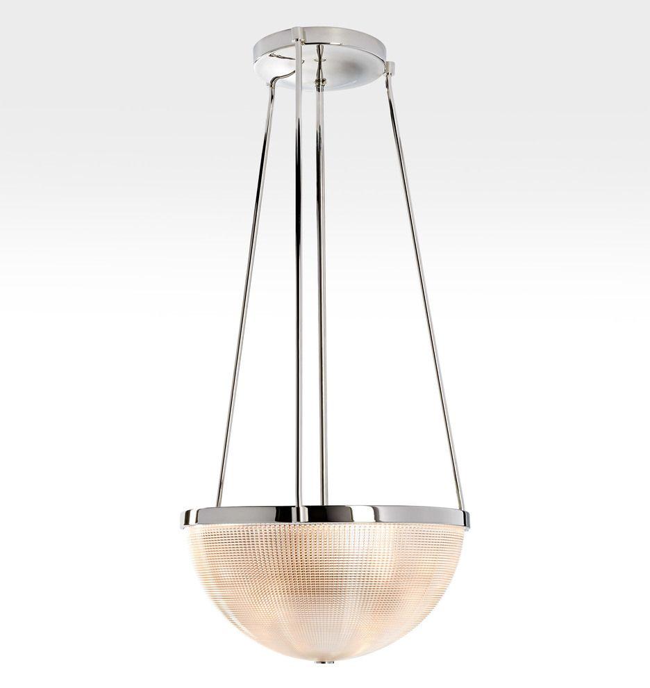 Arrington 17 1 2 Prismatic Glass Bowl Pendant Rejuvenation Bowl Pendant Glass Bowl Prismatic Pendant