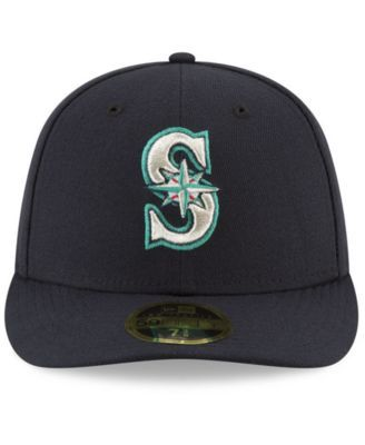 sports shoes d2ed7 fb52f New Era Seattle Mariners 9-11 Memorial Low Profile 59FIFTY Fitted Cap -  Blue 7 1 2