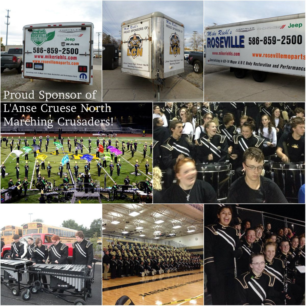 Check out roseville chrysler dodge jeep ram s latest blog post about lending a hand to the l anse cruse north marching crusaders