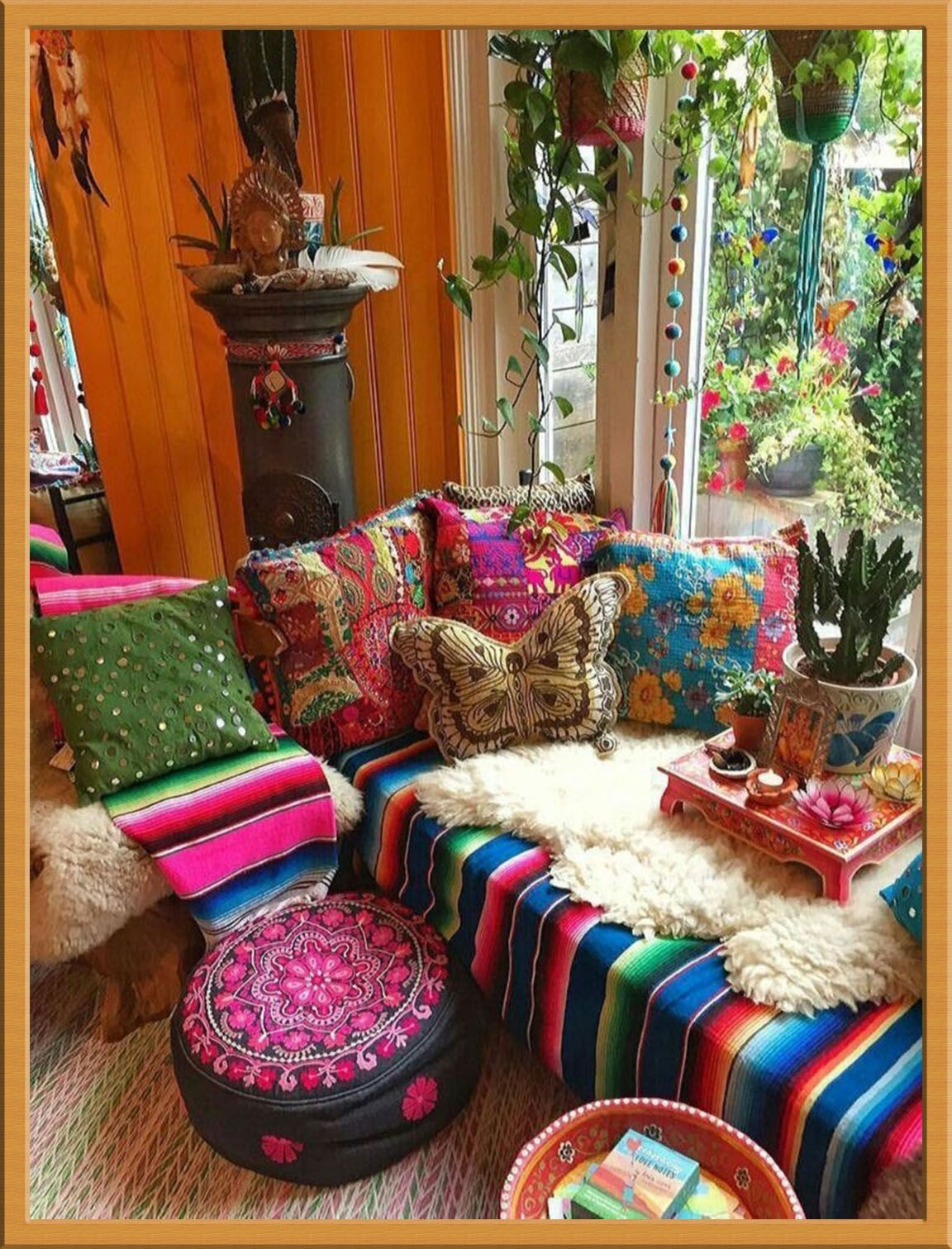 There's Big Money In Bohemian Homedecor