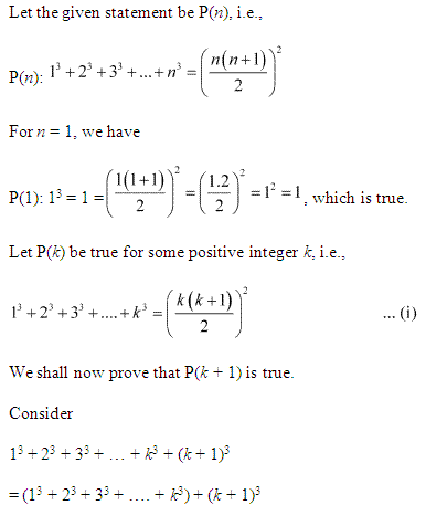Ncert Solutions For Class 11 Maths Chapter 4 Principle Of Mathematical Induction 5 Ncertsoluti Mathematical Induction Maths Ncert Solutions Maths Solutions