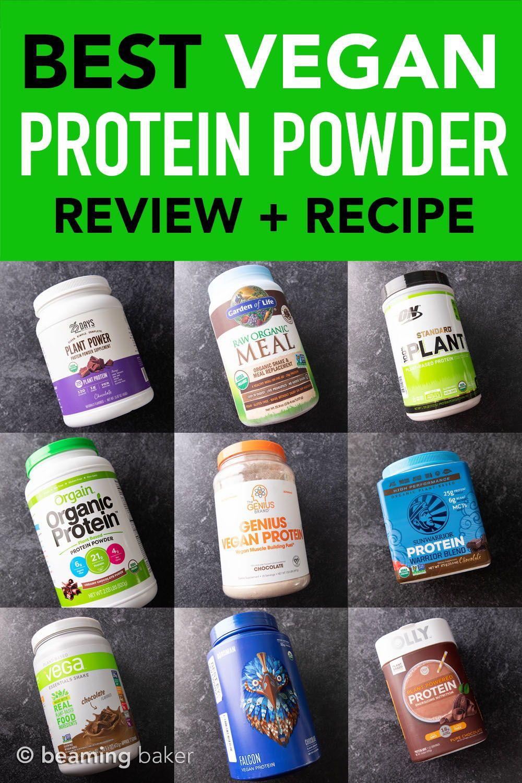 Best Vegan Protein Powder Ranked Chocolate Edition Recipe Best Vegan Protein Powder Best Vegan Protein Vegan Protein Powder
