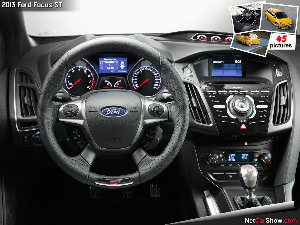 2014 Ford Focus St Interior Ford Focus Hatchback Ford Focus