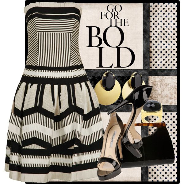 """""""Bold in Neutrals"""" by clara-bow80 on Polyvore"""