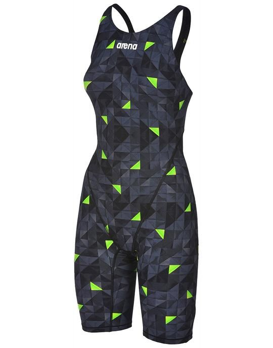 b9fdacd250 Arena Limited Edition Powerskin ST 2.0 Full Body Short Leg - Black and Green